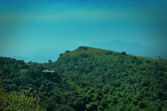 Chikkamagaluru District, الهند: Seethalayanagiri view from Mullayanairi