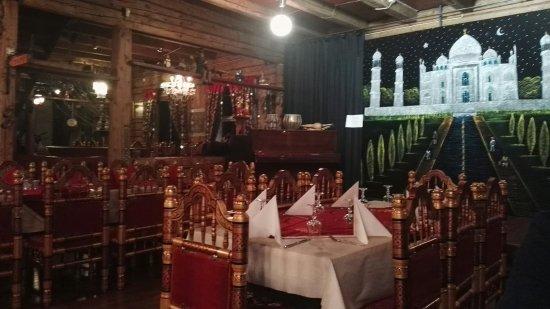 Spiseriet: Nydelig restaurant med god mat og fortreffelig service.
