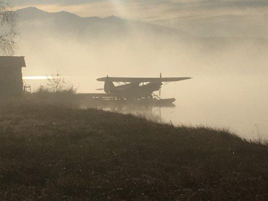 Bigfork, MT: Fog on the river