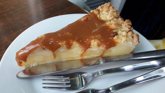 Pasteleria Lisboa: Tarta de manzana y dulce de leche