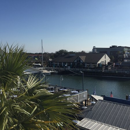 Shem Creek Inn: Room views of Shem Creek