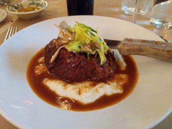 Highwood, IL: Beef short rib with polenta