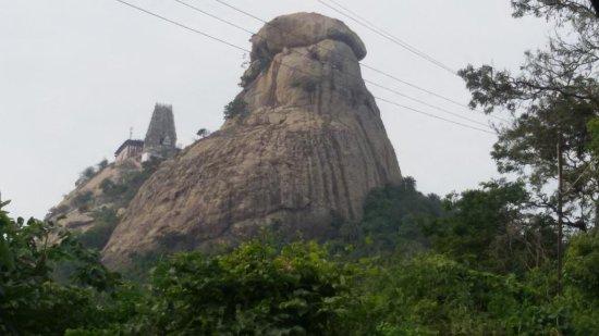 Sholinghur, Inde : Temple View