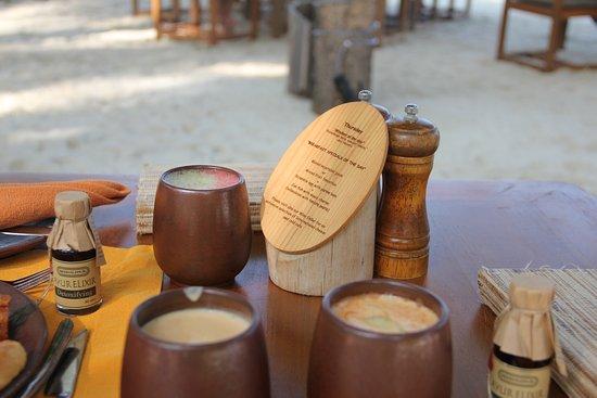 Gili Lankanfushi Maldives: Daily smoothies