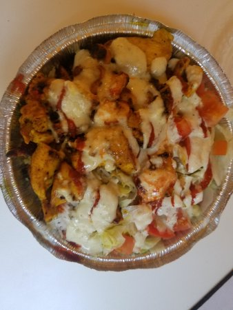 Chicken Over Rice Obr Zek Za Zen Ashar 39 S Kitchen Houston Tripadvisor
