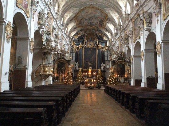 St. Emmeram Church: A stunning interior