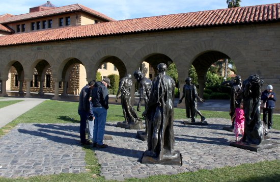 Stanford University: What are they doing? Contemplating life?