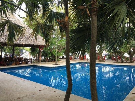 Sotavento Hotel & Yacht Club: to the restaurant
