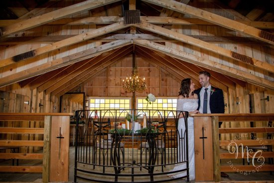 Rehoboth, MA: The Barn at Five Bridge Inn overlooks the event space [Photo: Meghan Costic Photography]