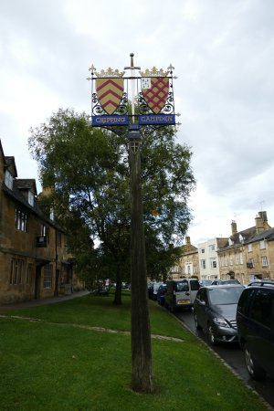Chipping Campden UK sign