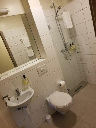 Hallormsstadur, Islandia: the small bathroom.