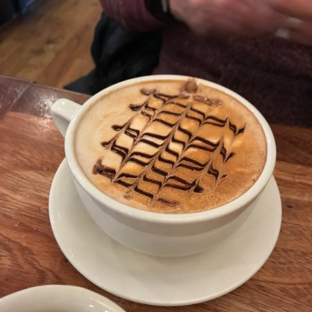 Reston, VA: A cafe mocha