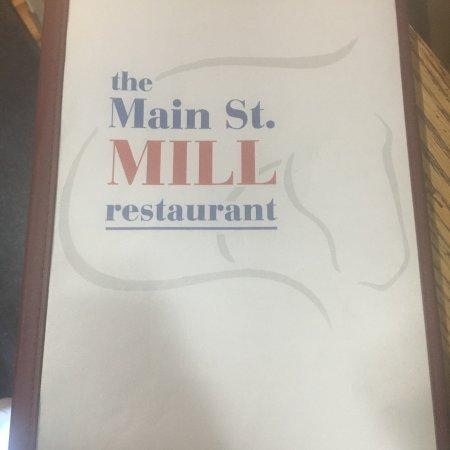 Main Street Mill Restaurant Front Royal Va Menu