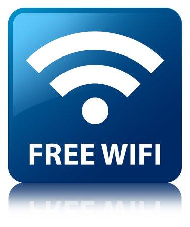 Castlemaine, Ierland: Free WIFI