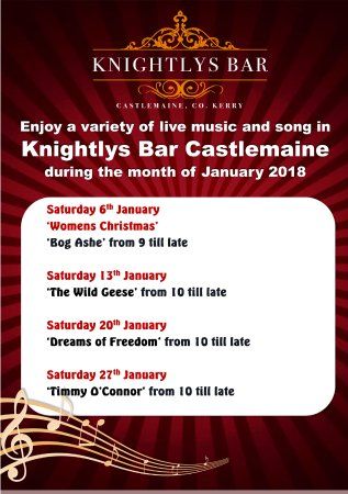 Castlemaine, Ierland: Live Music Every Weekend