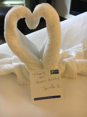 Holiday Inn Express Hotel & Suites New Tampa I-75 Bruce B. Downs: Housekeeper was very good and sweet.