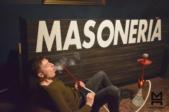 Masoneria shisha bar