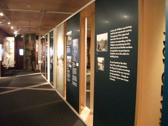 Waikato Museum: WW1 exhition