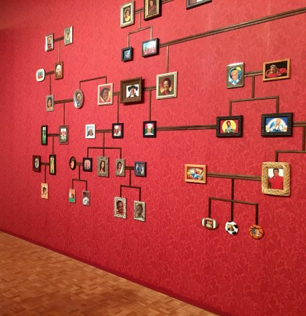 Cantor Arts Center: Grocery store family tree
