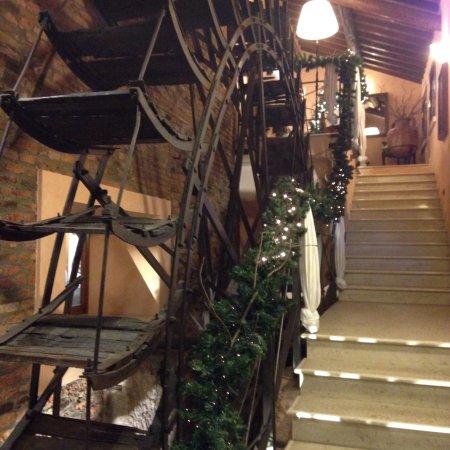 Villimpenta, Italien: Questo è l'ingresso alla sala superiore