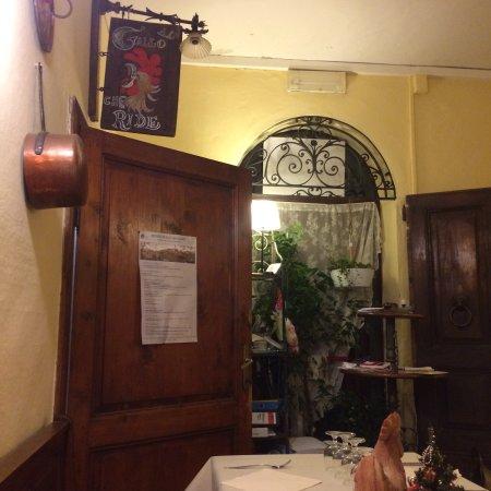 Ciciano, Italia: Atmosfera soft e buonissima cucina