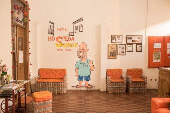 Hospeda Salvador: Sala de Estar e Recepção