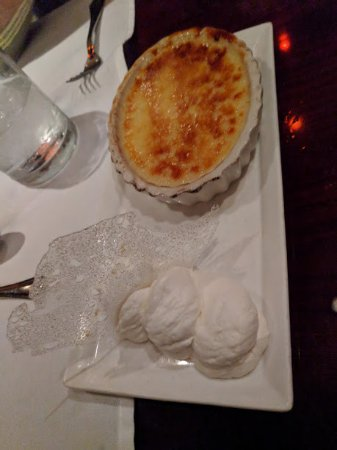 Harry Waugh Dessert Room at Bern's Steak House: Creme Brulee