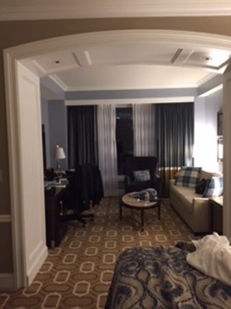 Boston Harbor Hotel : Our room