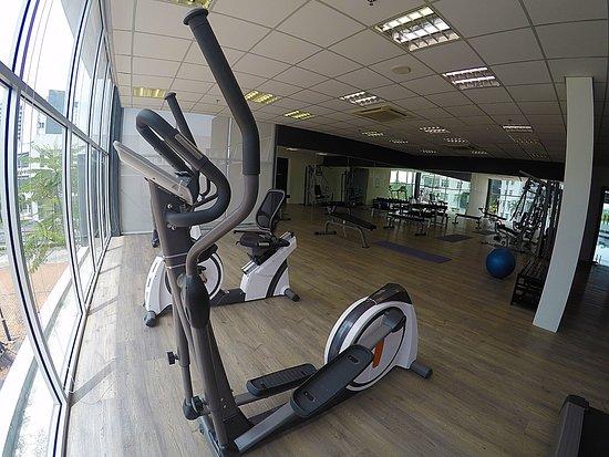 Gym room picture of amansari hotel nusajaya gelang