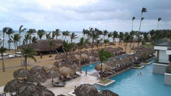 Beach pool area
