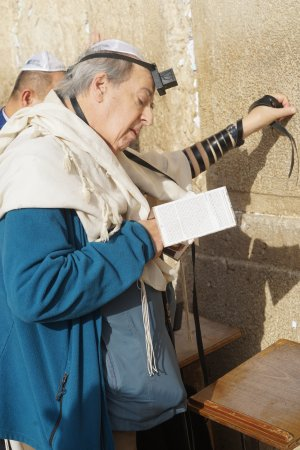 Zvika Bar Or Private Tours: Zvika shot this while I was praying at the Western Wall