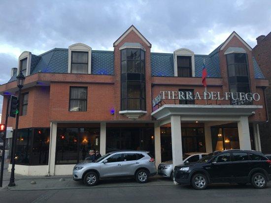 Tierra Del Fuego: fachada do hotel