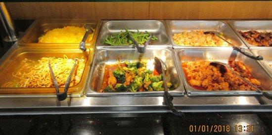 Champlain, Nowy Jork: Lunch buffet