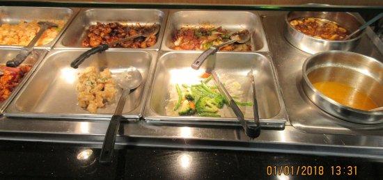 Champlain, نيويورك: Lunch buffet