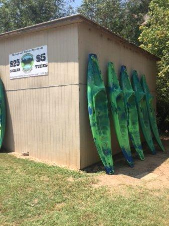Dahlonega, GA: Our sit-on-top single kayaks