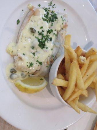 Vine Inn Barossa: Tasty grilled fish
