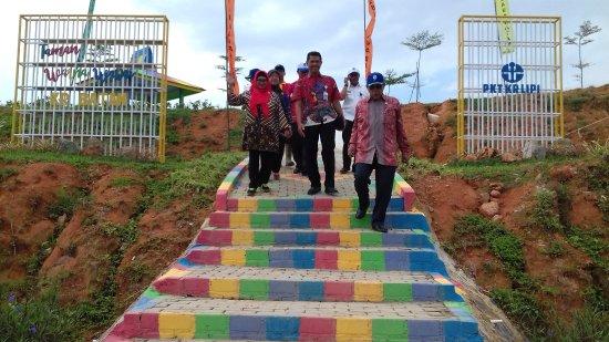 Нонгса, Индонезия: Taman warni warni Kebun Raya Batam