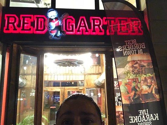 Red Barcelona Garter