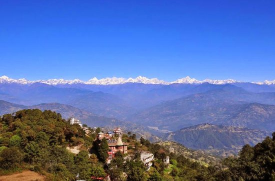Private Full-Day Tour With Nagarkot Sunrise and Bhaktapur
