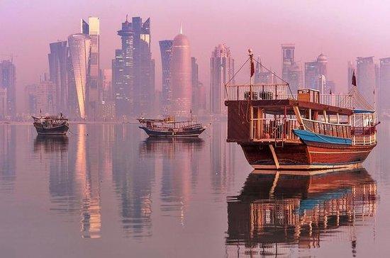 2-Hour Doha Corniche Walk and Dhow Cruise