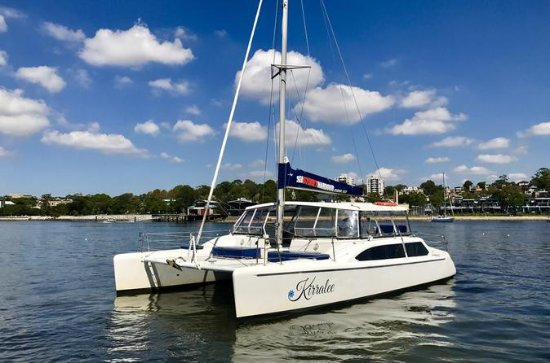 Private Catamaran Charter on Sydney Harbour