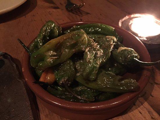 Marc Forgione: Shishito peppers
