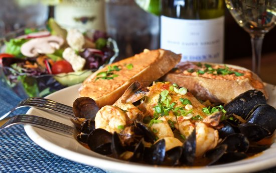 Essex, CT : Our Seafood Stew