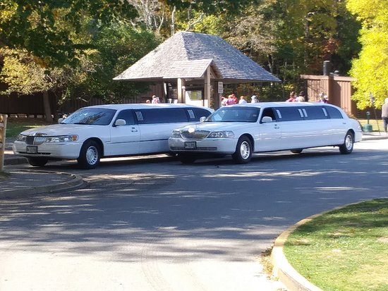 ‪‪Crystal Coach Limousine‬: Wedding at Sand Beach, Bar Harbor.‬