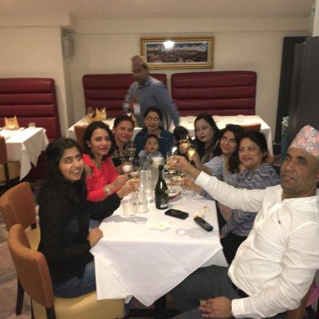 Peterculter, UK: Christmas and new year celebration at Cafe Bombay.