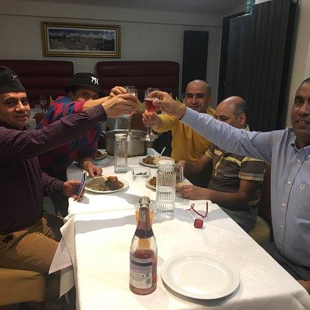 Peterculter, UK: Celebrating Christmas and new year at Cafe Bombay.
