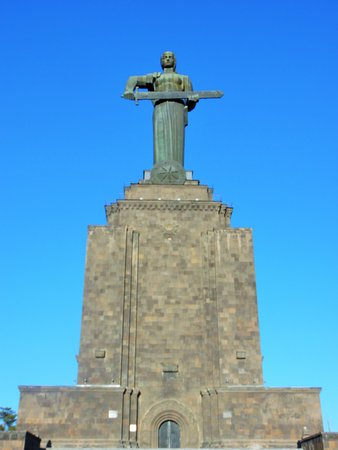 Victory Park and Statue of Mother Armenia: mother of Armenia2