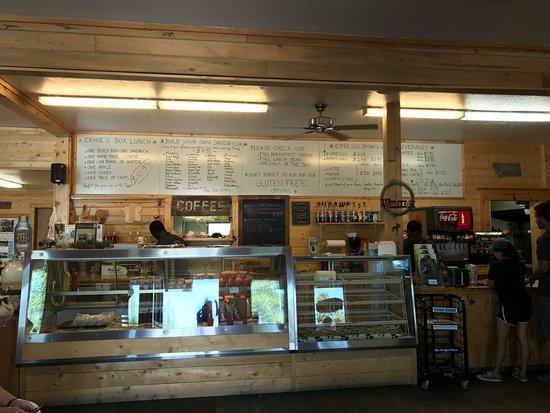 Ernie S Bakery And Deli Interior