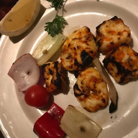 Jasmin Indian Restaurant: Garfish & Halloumi special