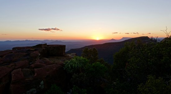 Eastern Cape, Afrika Selatan: Genieten van de zonsondergang